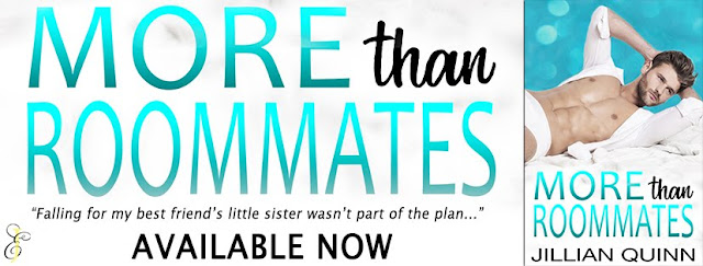 [New Release] MORE THAN ROOMATES by Jillian Quinn @jquinnbooks @EJBookPromos