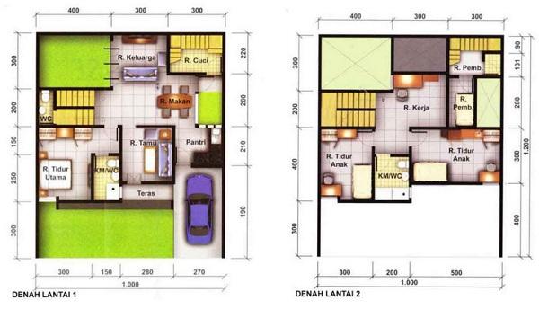 Gambar Skema Rumah Minimalis Sederhana Terbaru Ndesain Rumah