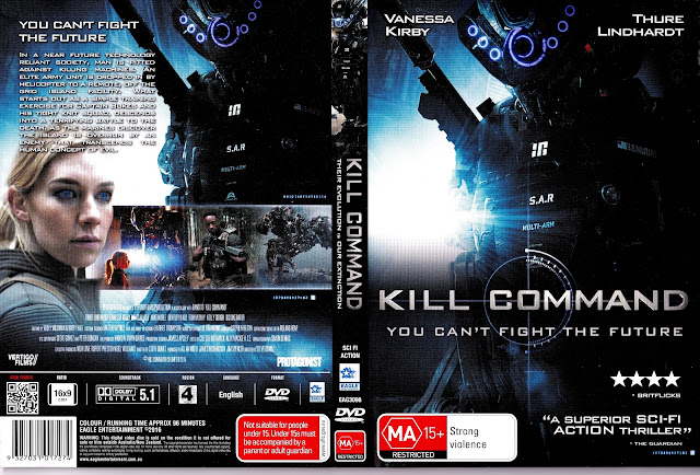 Capa DVD Kill Command