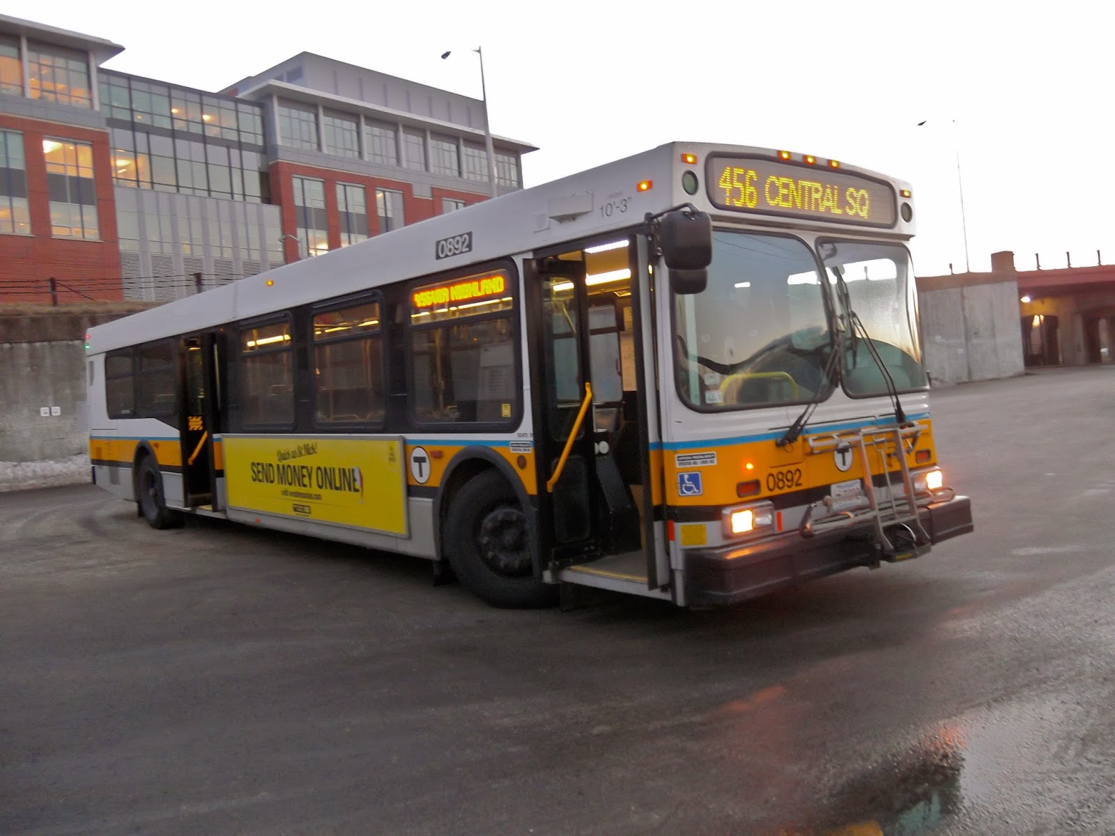 Miles On The Mbta 456 Salem Depot Central Square Lynn