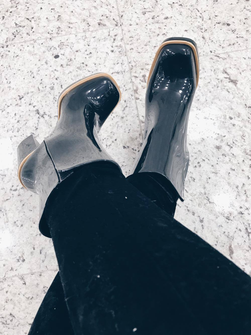 Look do dia Classic boot Melissa