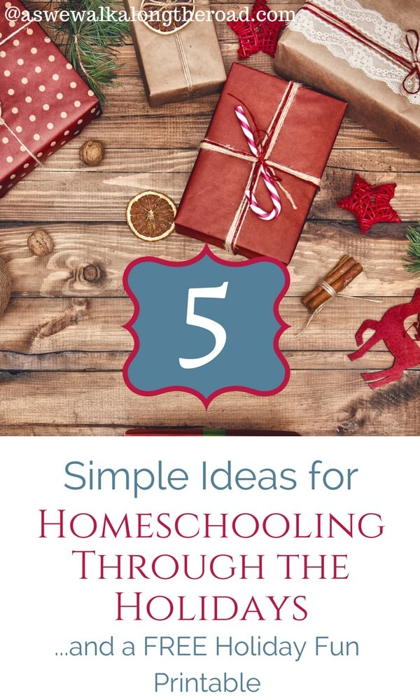 Homeschooling through the holidays