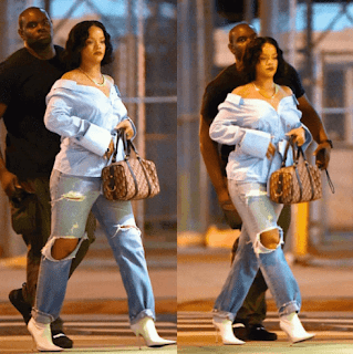 Sexy Rihanna fat weight gain