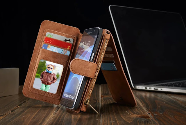2 in 1 Leather Phone Case