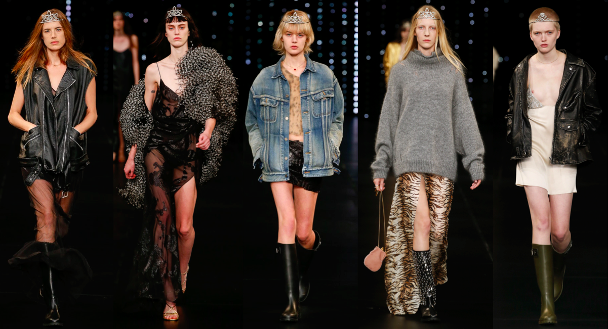 hedi slimane, ysl, runway, catwalk, designer, rtw, fashion week