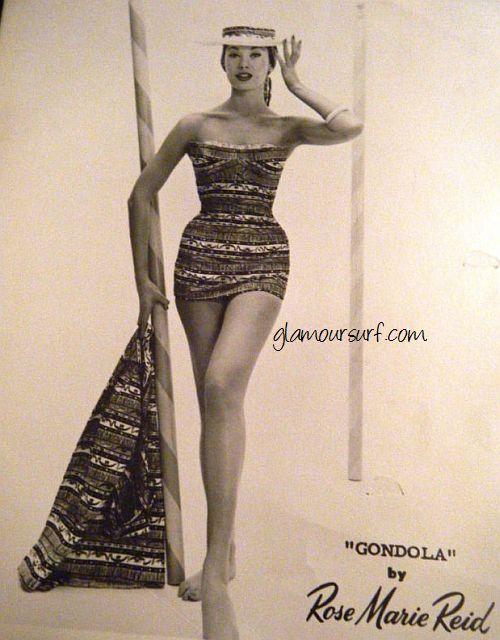 39d6d857b88 Glamoursplash: Rose Marie Reid Swimwear Fashions
