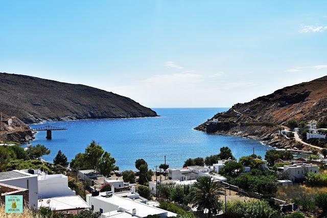 Megalo Livadi, isla de Serifos (Grecia)
