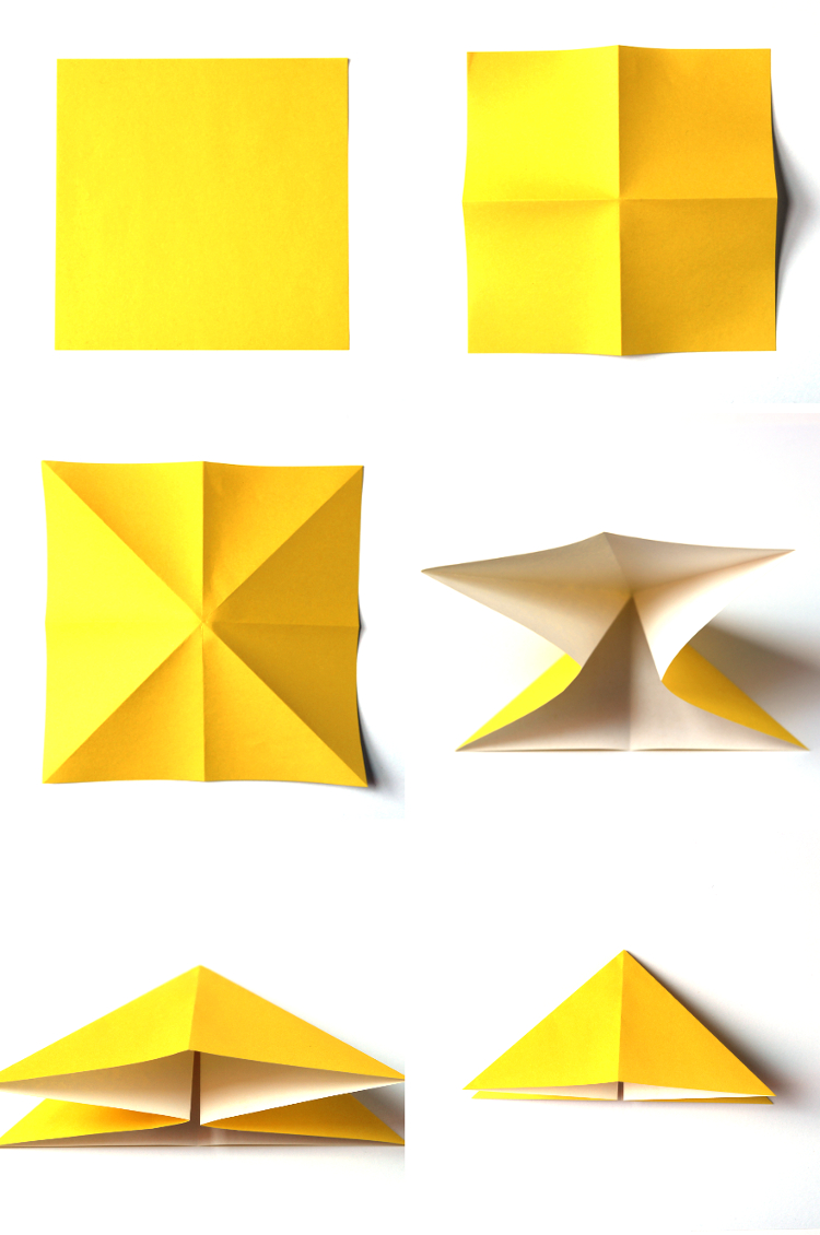 HOW TO MAKE EASY ORIGAMI BUTTERFLIES.