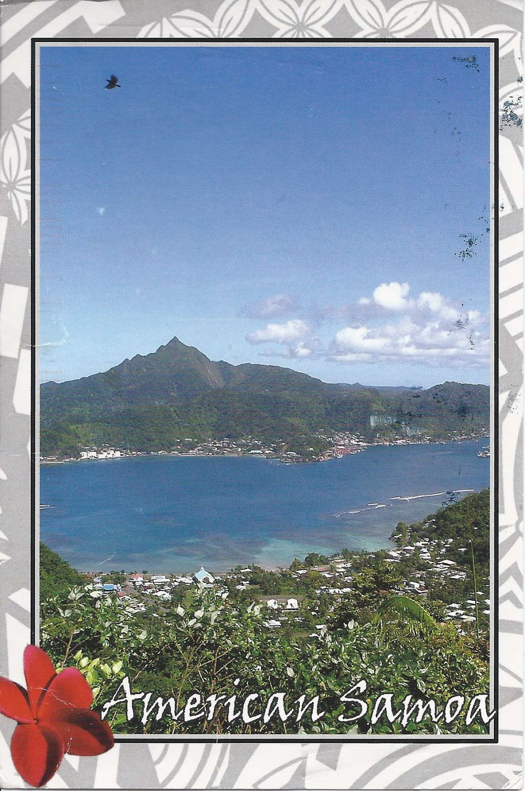 A Journey Of Postcards: A Postcard From American Samoa