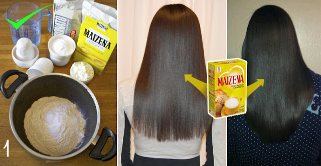 This Women Use Maizena On Hair Only 2 Time, And Get Crazy Results In Her Hair