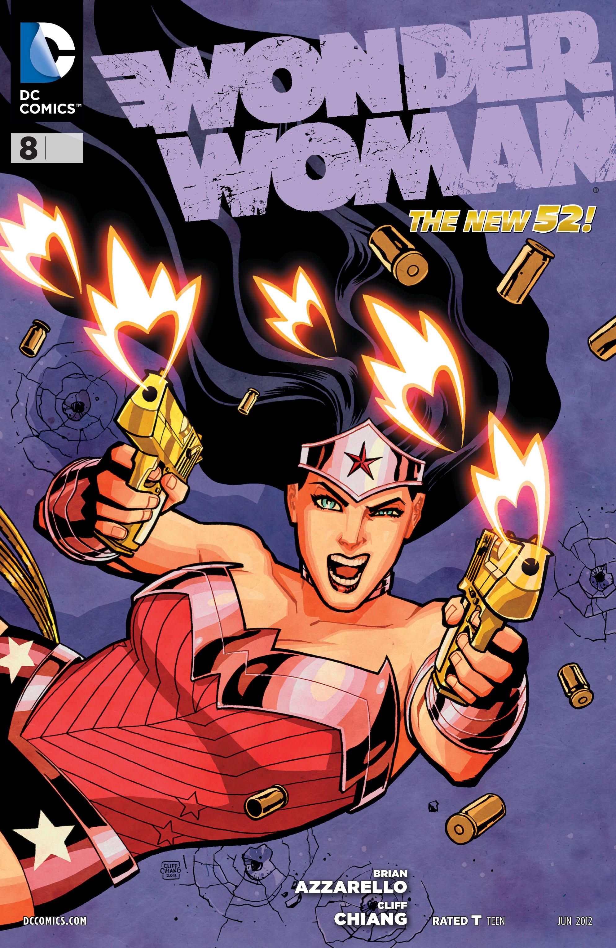 Read online Wonder Woman (2011) comic -  Issue #8 - 1