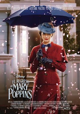 Mary Poppins Returns 2018 DVD R1 NTSC Latino