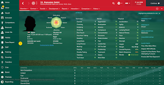 Football Manager 2017 Wonderkid Midfielder Ramadan Sobhi