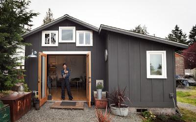 Маленький дом Мечты – из старого гаража фото 2