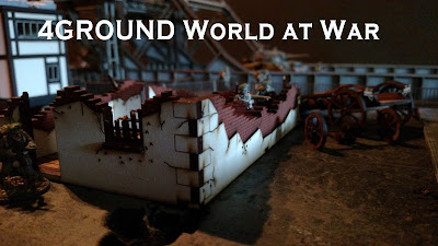 4Ground Ruined House - World At War