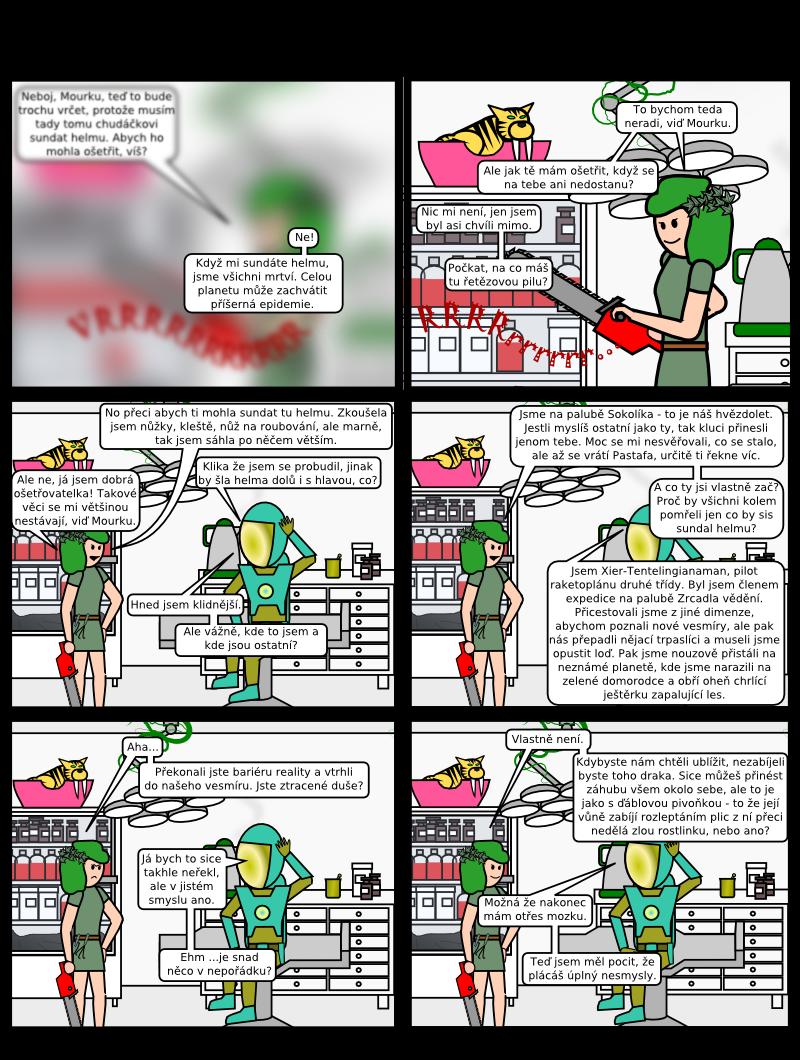 Podvoid komiks - #16 Probuzení do noční můry