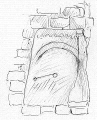 Sketch courtesy of Jean Atkinson, and permission to use from St Mary's church