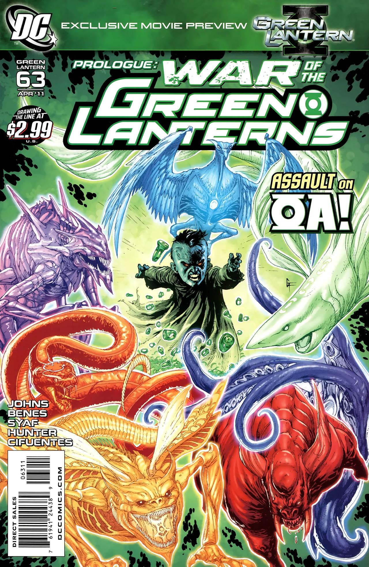 Green Lantern (2005) 63 Page 1