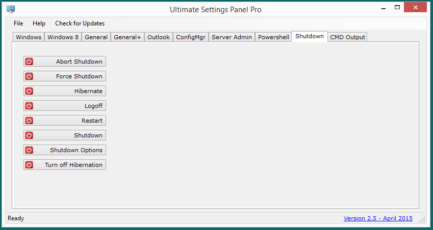 Ultimate Settings Panel Pro version 2.5 Released 11