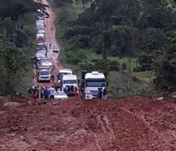 Juruena decreta situação de emergência devido as fortes chuvas; caos total nas rodovias do município