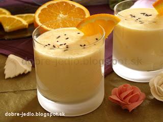 Mliečny pomarančový koktail - recepty