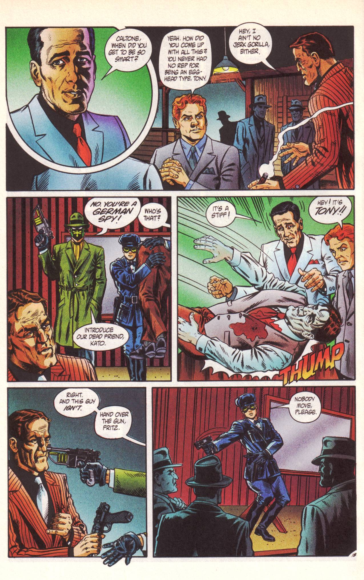 Read online Sting of The Green Hornet comic -  Issue #1 - 19