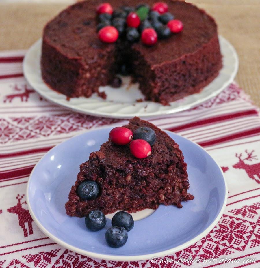 Quinoa-Schokoladen Torte