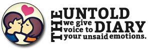 The Untold Diary - we give voice to your unsaid emotions.