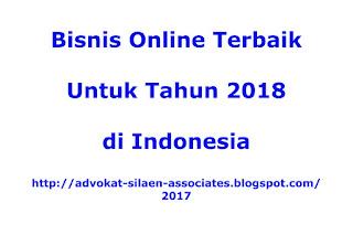 Jasa Bisnis Online Terbaik dan Terpercaya 2018 di Indonesia