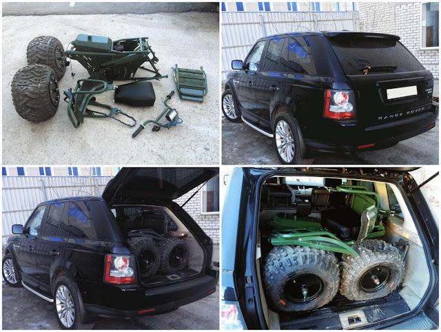 Тарусь 2х2 можно разобрать и увезти в багажнике легкового автомобиля