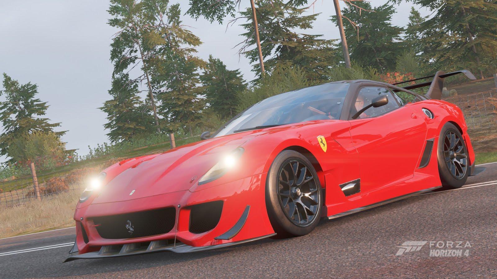 Leopaul S Blog Forza Horizon 4 The Ferrari 599xx Evo