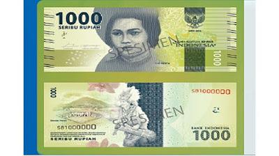 Uang baru 1000