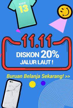 11.11 Hari Terbaik Untuk Belanja Online