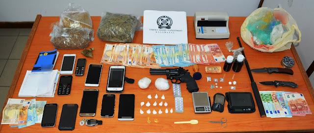 Εξαρθρώθηκε εγκληματική οργάνωση που διακινούσε ναρκωτικά στη Μεσσηνία