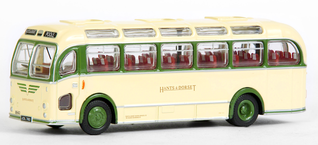 EXCLUSIVE FIRST EDTIONS 16230  - Bristol LS - Hants & Dorset Still decorated in Southern Vectis colours before going into Hants & Dorset's dual purpose livery. Bristol LS fitted with the coach body, fleet number 846, registered  JDL 760 is en route to Poole.  RRP £34.50