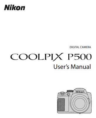 Nikon Coolpix P500 User Manual