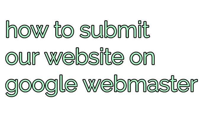 How to submit site on webmaster
