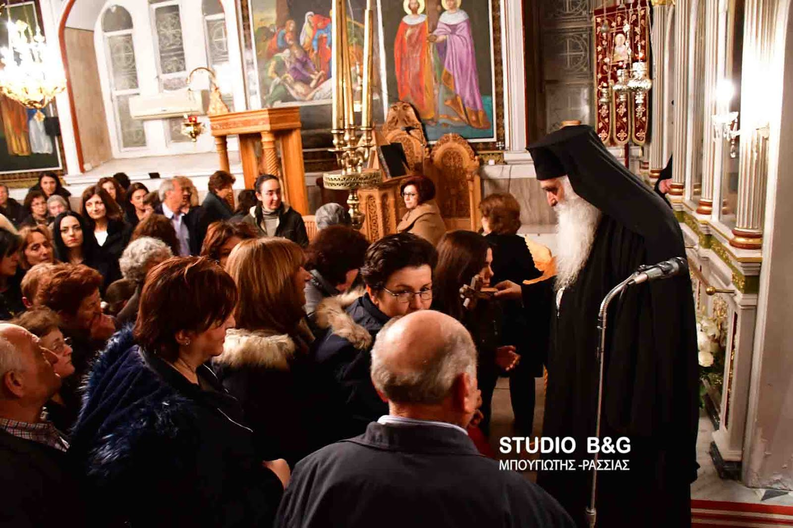 Ομιλία του Σιατίστης Παύλου στο Μαλαντρένι Αργολίδος