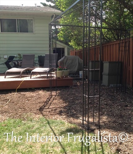 Outdoor living space expansion BEFORE
