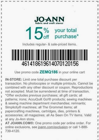Oct 03,  · 40% Off Joann Fabrics Coupon – Total Purchase Printable & Mobile: Print this Joann coupons and present them in their craft stores to get 40% off your total purchase of regular price items. Can be shown on your mobile devices/5().