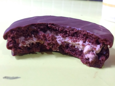 alfajor japones chocolate relleno