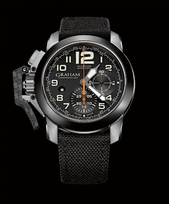 GRAHAM Chronofighter Oversize New Generation STEEL (Ref. 2CCAC.B03A)