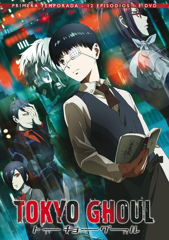 Tokyo Ghoul |12/12 + PV| |Temporada 1| |Audio Castellano| |Resubido| |Mega|