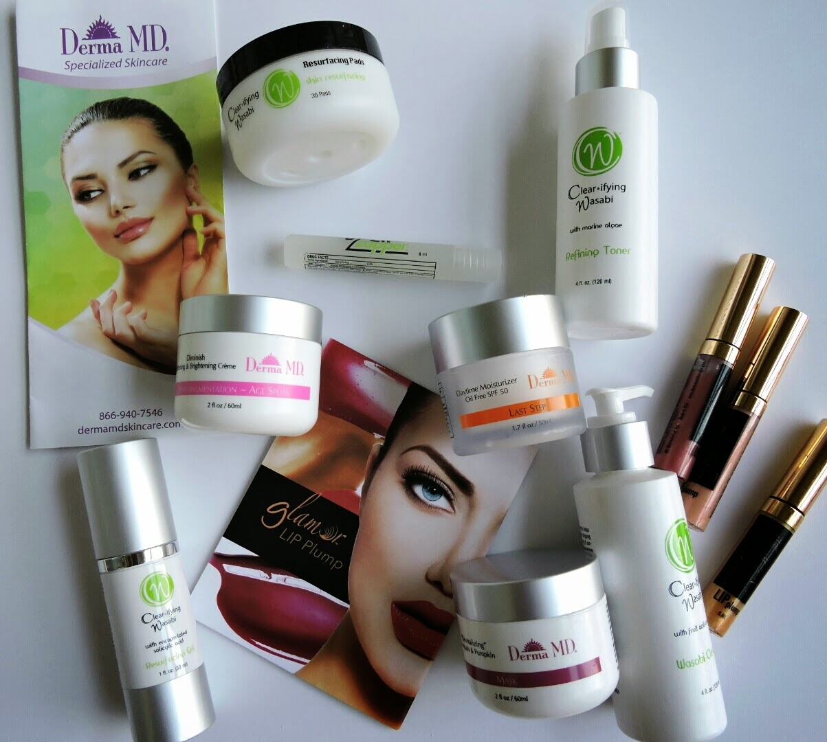 Derma MD Skincare Products Review and Giveaway Ends 11/12 #Skincare via www.productreviewmom.com