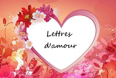 Lettres Damour Joyeux Poemes