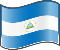Nicaragua Flag — WikiProject Nuvola, in the public domain