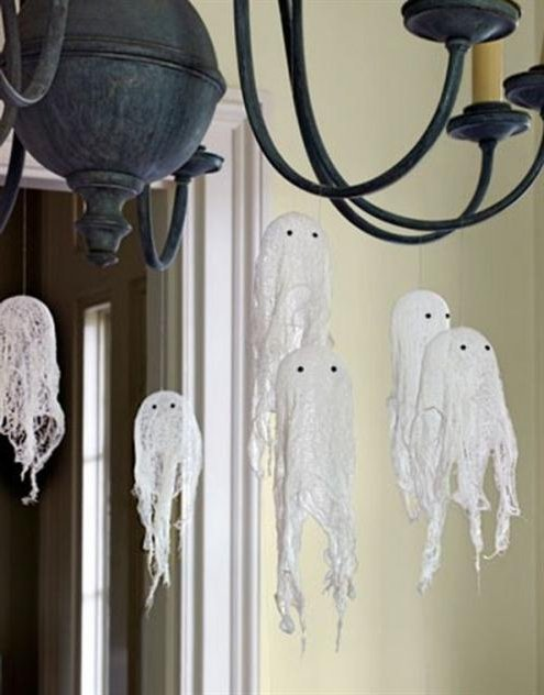 Fantasmas para decorar tu hogar en Halloween