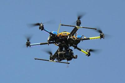 Drone tipo cuadricoptero Puerto Vallarta