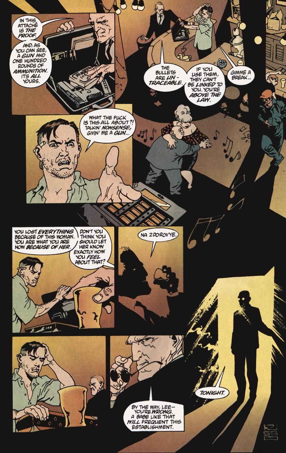 Read online 100 Bullets comic -  Issue #4 - 9