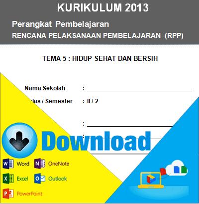 Download Rpp Kurikulum 2013 Kelas 2 Sd Tema Hidup Sehat Dan Bersih Semester 2 File Sekolah